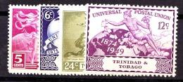 Trinidad & Tobago, 1949, SG 261 - 264, Mint Hinged - Trinité & Tobago (...-1961)
