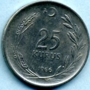 1966  25 KURUS - Turkey