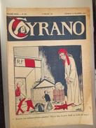 Cyrano  Revue Satirique Humoristique  Le Pere Noel Se Fiche De Moi Marianne Republique 1933 - Newspapers