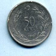 1975  50 KURUS - Turkey