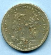 1985  10 PESOS - Colombie