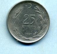 1961  25 KURUS - Turkey