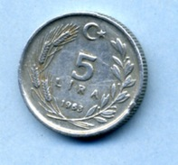 1983 5 LIRA  25 KURUS - Turkey