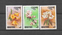 BHUTAN 1976 Mi.  Nr° 638,639,643 (**) - Bhoutan