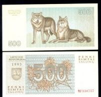 LITHUANIA / LITOUWEN * 500 TALONU TALONAS * P 46 * UNC BANKNOTE - Litouwen