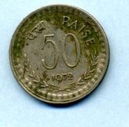 1972 50 PAISE - India