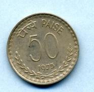 1975 50 PAISE - India