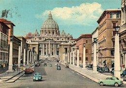 ROMA - Via Della Conciliazione - (auto) - Altri Monumenti, Edifici