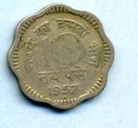 1957 10 PAISE - India