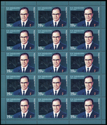 2017 M/S Russia Russland Russie Rusia 100th Birth Anni Of Yevgeny Zababakhin A Nuclear Physicist Mi 2409 MNH **
