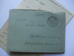 GERMANY WW2 FELDPOST ENTIRE 1941 NORDHAUSEN TO Feldpostnummer L.45042 - Briefe U. Dokumente