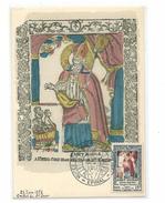 Carte Maximum - Inauguration Du Musée De L'imagerie D'Epinal - Année 1951 - Maximum Cards
