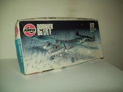 Aereomodello  Dornier  Do  17E/F  Scatola Di Montaggio Anni 80   Scala 1/72 - Aerei E Elicotteri