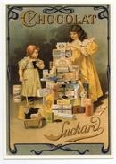 CPM - CENTENAIRE Editions -  RECLAME - 148 - Chocolat SUCHARD - Boîte Métallique D'époque - Reclame