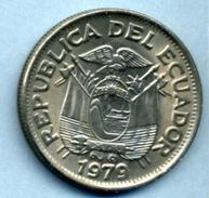 1979 1 SUCRE - Equateur