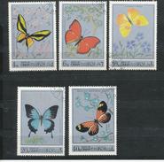 Vignette-   Oman  Schmetterlinge  Gestempelt - Vignetten (Erinnophilie)