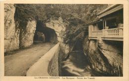 26 LES GRANDS GOULETS LES BARAQUES ENTREE DES TUNNELS - Les Grands Goulets