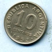 1952 10 CENTAVOS - Argentine