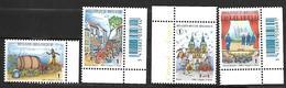 Belg. 2008 - COB N° 3800 - 3801 - 3802 - 3803 ** - Folklores Et Traditions - Unused Stamps