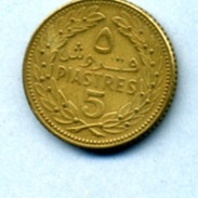 1970 5 PIASTRES - Libanon