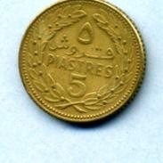 1970 5 PIASTRES - Liban