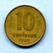 1992 10 CENTAVOS - Argentine