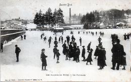 -A1-  88   SAINT DIE- Plaisir D'hiver, Le Patinage Ecrite 1908 - Saint Die
