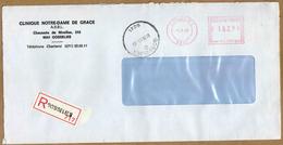 Enveloppe Cover Brief Aangetekend Registered Recommandé Gosselies - België