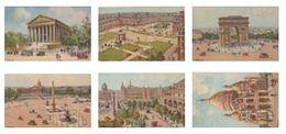 CPA - 6 Cartes Paris -  Illustrateur G. Djanthis - Très Bon état (Lot 320) - Illustrators & Photographers