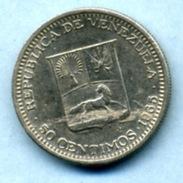 1965 50 CENTIMOS - Venezuela
