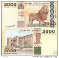 Tanzania 2000 Shilingi 2003 P-37 UNC - Tanzania