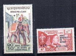 Serie Nº 69/70 Laos - Elefantes