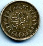 1937 2 PIASTRES - Egypte