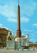 ROMA - Piazza Del Quirinale - Fontana Con L'Obelisco E Le Statue Dei Dioscuri (Castore E Polluce) - Orte & Plätze
