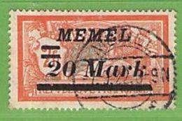 MiNr.95 O Deutschland Deutsche Abstimmungsgebiete Memelgebiet - Memelgebiet
