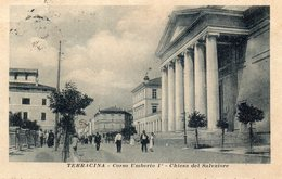 1916 CARTOLINA TERRACINA ROMA - Altre Città