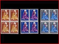 Congo 0362/64**  Noel Madone X4  MNH - 1947-60: Neufs