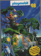 (jouets) Catalogue PLAYMOBIL 1998 (CAT 605) - France