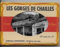 Carnet  Photos LES GORGES DE CHAILLES - Lieux