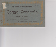CONGO FRANCAIS   CARNET   (reste 14 Vues ) - Congo Français - Autres