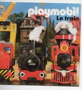 """(jouets) Catalogue PLAYMOBIL 1988 """"le Train"""" (CAT 603) - France"""