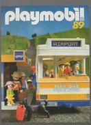 (jouets) Catalogue PLAYMOBIL 1989 City Bus  (CAT 600) - France