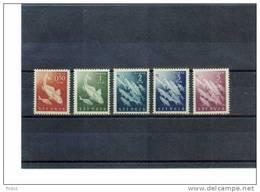 Triest Zone B (STT-VUJA) 1950 Portomarken / Postage Due Set Fische / Fishes Michel 6-10 Postfrisch / MNH - Ungebraucht