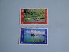 Nouvelle Calédonie 1989 Yvert  580 PA 263 ** Michel 856/7 Paysages  Landscapes - Nouvelle-Calédonie