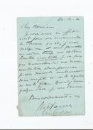 ELIE FAURE (1873 STE FOY LA GRANDE 1937 PARIS) MEDECIN HISTORIEN DE L'ART ET ESSAYISTE FRANCAIS LETTRE A SIGNATURE 1912 - Autographs