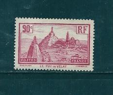 France Timbres De 1933 N°290 ( Le Puy En Velay)  Neuf ** - France
