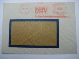 Firmen Freistempel , Meterstempel Auf Beleg Aus  LEIPZIG  1931 - Deutschland