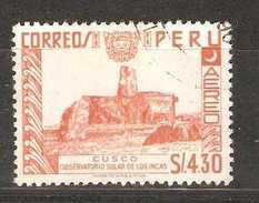 Peru - 1962 Solar Observatory Used  Sc C187 - Peru