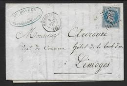 Nord - G.C.  1764  Et Cachet Type 15  HAUBOURDIN - Marcophilie (Lettres)