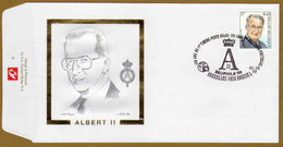 Enveloppe Brief Cover FDC Roi Albert II - 1991-00